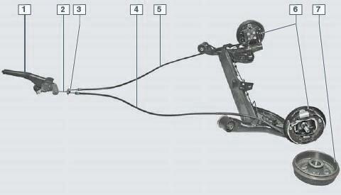 Устройство тормозной системы автомобиля Рено Логан